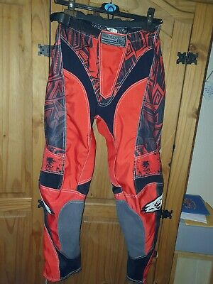 "Wulfsport Red 32"" Motocross Pants"