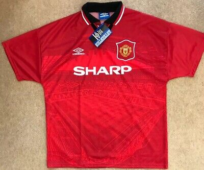 Manchester United Man Utd 1994 - 1996 Home Shirt/ Large/ *BNWT*