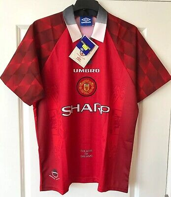 Manchester United Man Utd 1996 - 1998 Home Shirt/ Large (L)/ *BNWT*