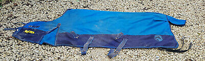"""6ft 6 lightweight 6'6"""" no fill outdoor turnout rug CHARITY tack clearance SALE"""