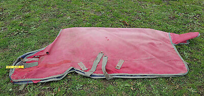 6ft Horseware Ireland 6'0 lightweight no fill outdoor turnout rug CHARITY SALE