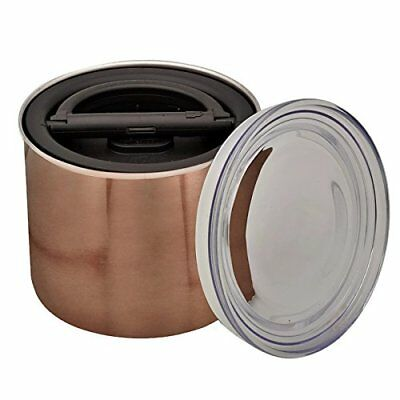 Airscape Coffee and Food Storage Canister, 32 oz - Patented Airtight Lid