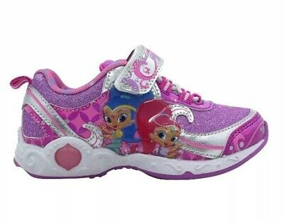 Shimmer and Shine Toddler Girls' Lighted Athletic Shoes Size 11 M