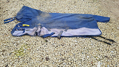 """5ft9 Combo neck Knight Rider 5'9"""" lightweight no fill turnout rug CHARITY SALE"""