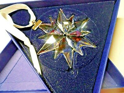"2017 Swarovski Crystal ""Snowflake"" (5257589) Annual Edition Christmas Ornament"