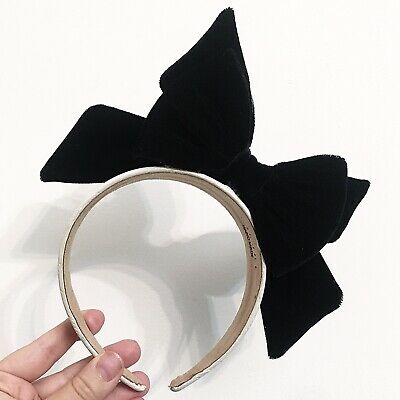 Headband Chanel Vintage MODIFICATO❗️(with Craft 3D velvet Bow Ribbon)