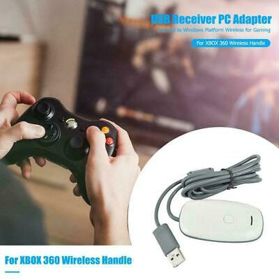 For Microsoft Xbox 360 USB Wireless Receiver Game Controller Adapter New U4J3R