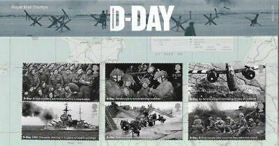 GB 2019 D-Day 75th Anniversary Normandy Landings Royal Mail Presentation Stamps