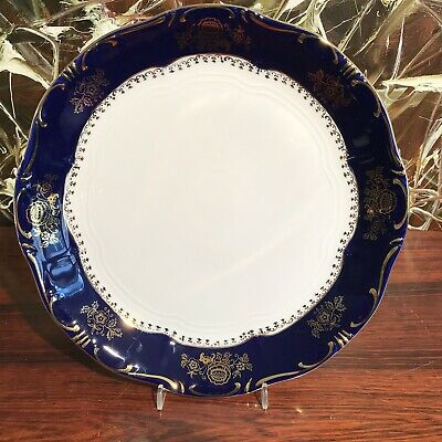 Zsolnay Hungary Pompadour III - Classy Pastry Plate/Serving Bowl Ø 29cm