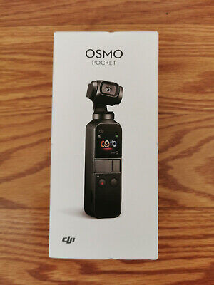 DJI Osmo Pocket Handheld 3 Axis Gimbal Stabilizer w/ Integrated Camera