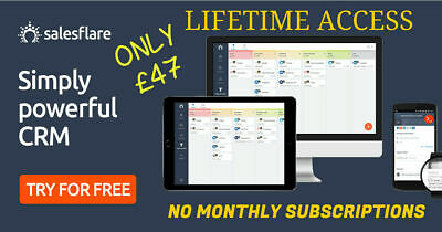 Salesflare CRM Lifetime Deal Business Email Marketing Follow Up Leads Automation