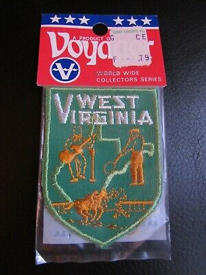 Voyager State Souvenir Patch West Virginia Embroidered Patch Emblem