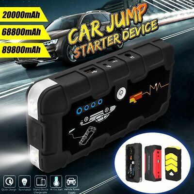 Car Jump Starter Battery Booster Multifunctional Portable Power Charger Device