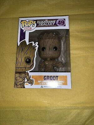 Funko Pop MARVEL GUARDIANS of the GALAXY * 49 GROOT * RaRe