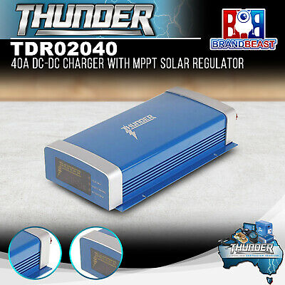 Thunder TDR02040 40A DC-DC Charger with MPPT Solar Regulator