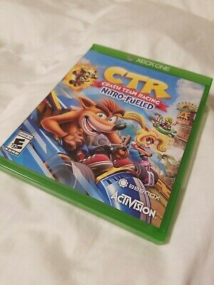 Crash Team Racing - CTR Nitro Fueled Xbox One 2019 MINT COMPLETE WITH DLC!