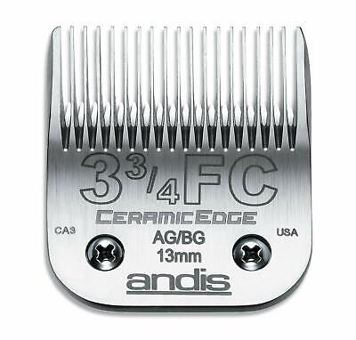 Andis CeramicEdge Carbon-Infused Steel Pet Clipper Blade Size-3-3/4 1/2-Inch ...