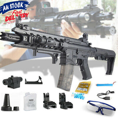 Weapon Crystal Army AR15 Bullet Gun Blaster Sniper Toy Water Kids