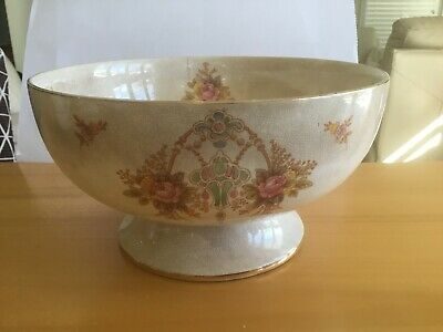 China bowl. Stoke on Trent, Devon Ware Fieldings.