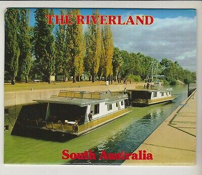 Foldout The Riverland South Australia 12 Scenes I & C Postcard