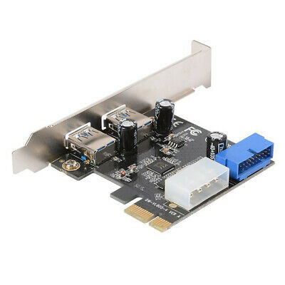 1X(Desktop PCI-E to USB 3.0 Expansion Card With Interface USB 3.0 Dual Port W1V8