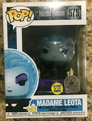 Funko POP! Disney Parks Haunted Mansion 50th Madame Leota GLOW IN THE DARK
