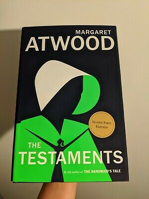 Signed THE TESTAMENTS by MARGARET ATWOOD Limited First Edition HANDMAID'S TALE