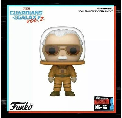 CONFIRMED ORDER Funko Pop Astronaut Stan Lee 2019 NYCC Fall Shared Exclusive
