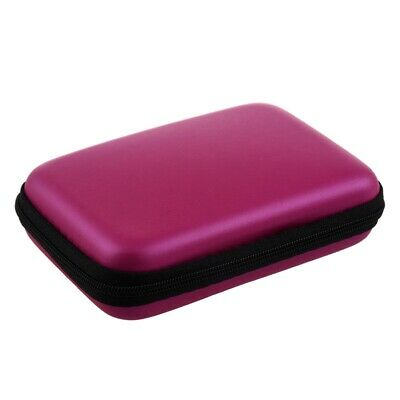 """1X(Portable Hard Disk Drive Shockproof Zipper Cover Bag Case 2.5"""" HDD Bag r P4Y2"""