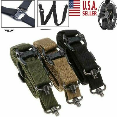 "1.2"" Retro Adjust Rifle Sling Tactical Quick Detach QD 1 or 2Point Multi Mission"