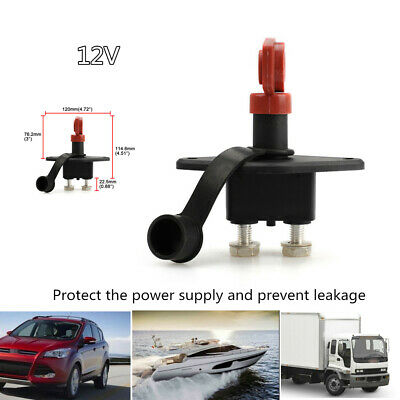 12V Battery Isolator Disconnect Cut Off Power Kill Switch System Car Truck Boat
