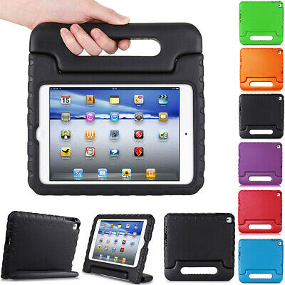 Kids Shock Proof Safe Foam Case Handle Cover Stand For Apple iPad Mini 4