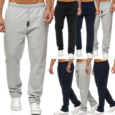 Men Long Trousers Tracksuit Fitness Sport Pants Workout Joggers Gym Sweatpants