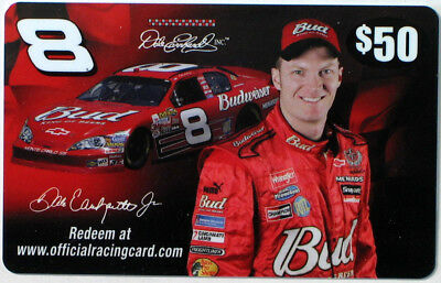#8 Dale Earnhardt Jr. -  Gift Card Collectible NO Value RARE
