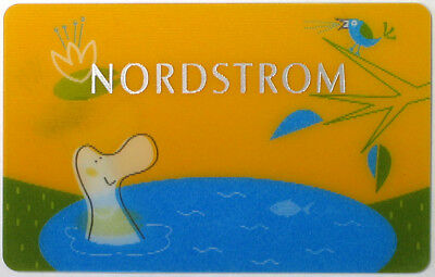 NORDSTROM - Gift Card - NO Value RARE !!!
