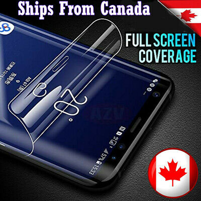 Hydrogel Full Coverage Screen Protector For Galaxy S8 S9 Plus Note 9 10 10 Plus