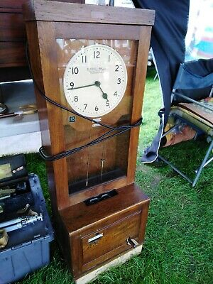 Vintage Clocking In Clock