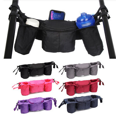 Fashion Holder Pushchair Stroller Organizer Trolley Accessories Cup Bag