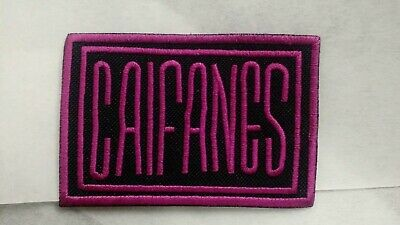 Caifanes Patch Embroidered Iron/Sew-on Jaguares 90s Rock Mexicano