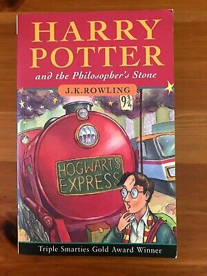 Harry Potter Philosopher's Stone PB - First Edition 1997 60th Print - Good