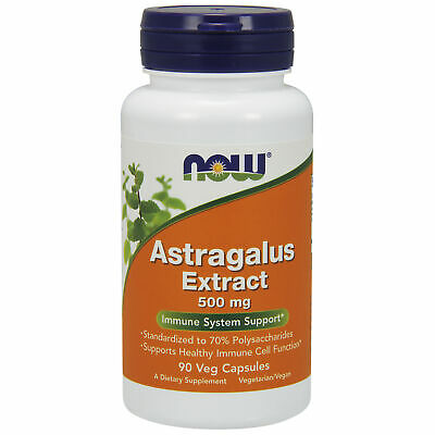 Astragalus Root Super Strong 70% Extract 500mg 90 Veg Capsules | Immune Support