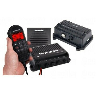 Raymarine VHF Ray90 Black Box with AIS700 Rx / Tx (includes 1 x wired handset, p