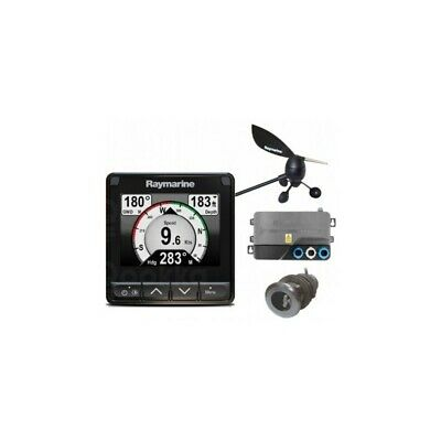 Raymarine i70s System Pack with Wind and DST transducer iTC-5 BB 3m cable, power