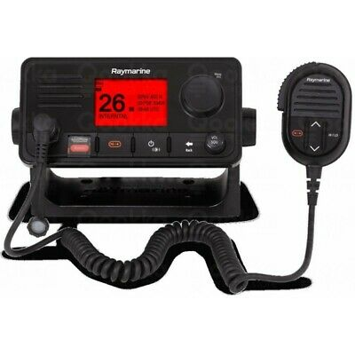 Raymarine VHF Ray73 (with optional 2nd station) with integrated GPS and AIS rece