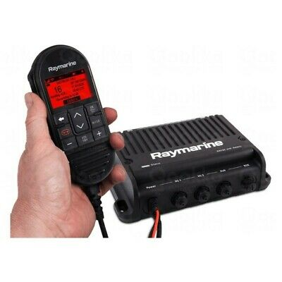 Raymarine  VHF Ray91 Black Box with integrated AIS receiver (includes 1 x wired