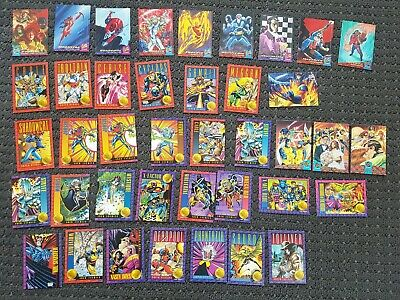 X-Men trading cards Fleer Ultra 94 and Skybox 1993 cards collectable