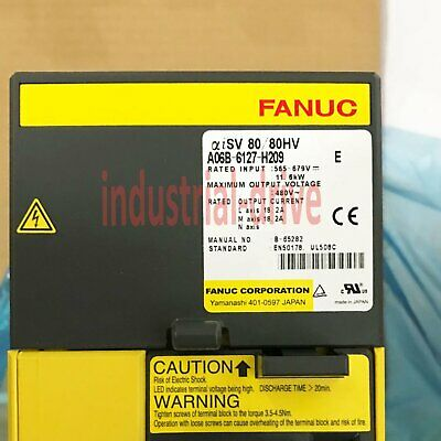1PC New In Box Fanuc A06B-6127-H209 one year warranty A06B6127H209
