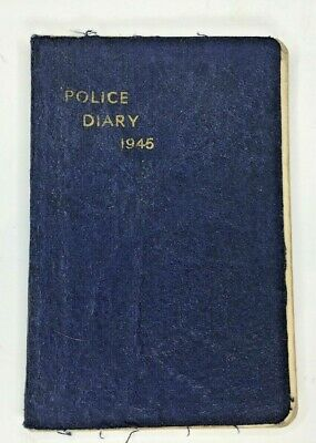1945 WW2 Auxiliary Police Womans Diary War Related Entries