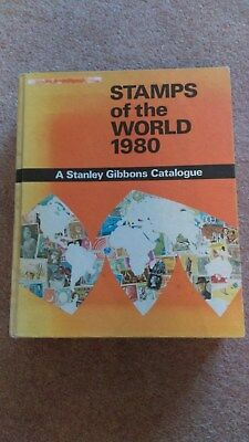 Vintage Stanley Gibbons Stamp Catalogue Stamps of the World Hardback 1980