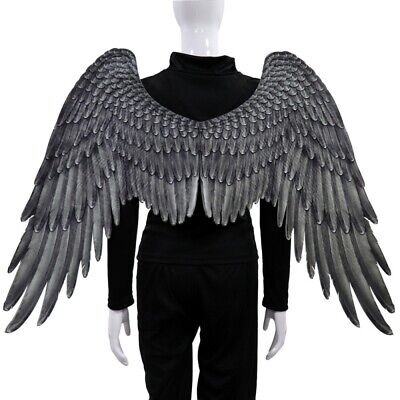 Halloween Adults Large Angel Wings Carnival Party Cosplay Costume Props Unisex